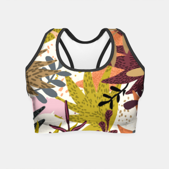 Thumbnail image of Earthy Forest-v2 Crop Top, Live Heroes