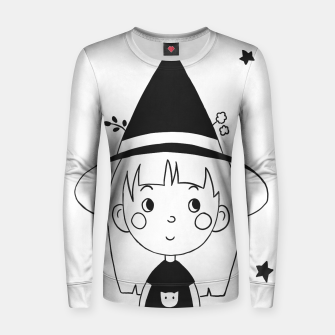 Imagen en miniatura de Little Witch Woman cotton sweater, Live Heroes