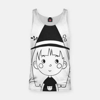 Thumbnail image of Little Witch Tank Top, Live Heroes