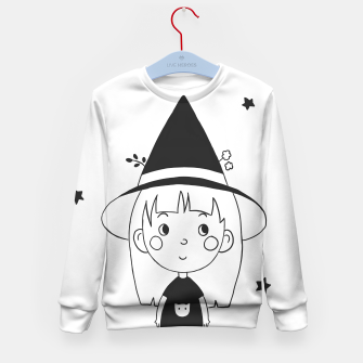 Miniatur Little Witch Kid's sweater, Live Heroes