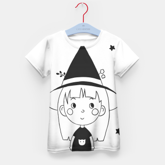 Imagen en miniatura de Little Witch Kid's t-shirt, Live Heroes