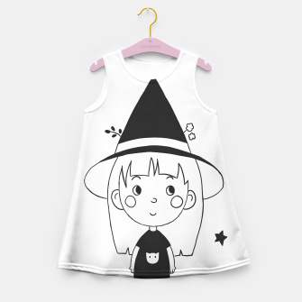 Miniatur Little Witch Girl's summer dress, Live Heroes