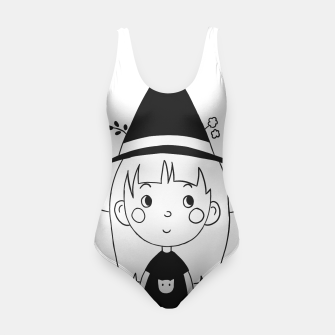 Miniatur Little Witch Swimsuit, Live Heroes