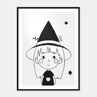 Imagen en miniatura de Little Witch Framed poster, Live Heroes