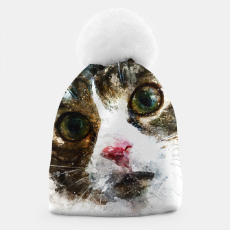 Miniatur gxp cat for real watercolor mix - katze for real wasserfarbe mix Mütze, Live Heroes