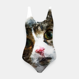 Miniatur gxp cat for real watercolor mix - katze for real wasserfarbe mix Badeanzug, Live Heroes