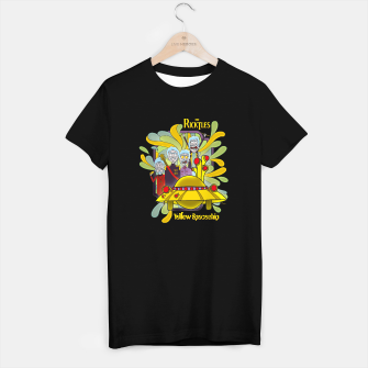 Thumbnail image of The Ricktles - Yellow Spaceship Camiseta Regular, Live Heroes