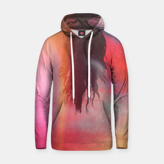 Thumbnail image of The Upside Down World Cotton hoodie, Live Heroes