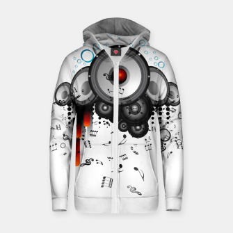 Thumbnail image of Sound Buster Cotton zip up hoodie, Live Heroes