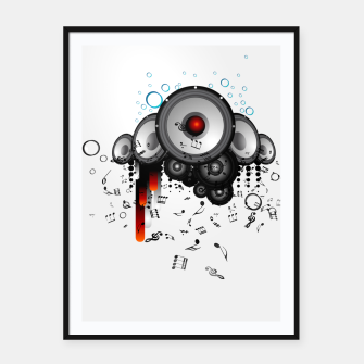 Thumbnail image of Sound Buster Framed poster, Live Heroes