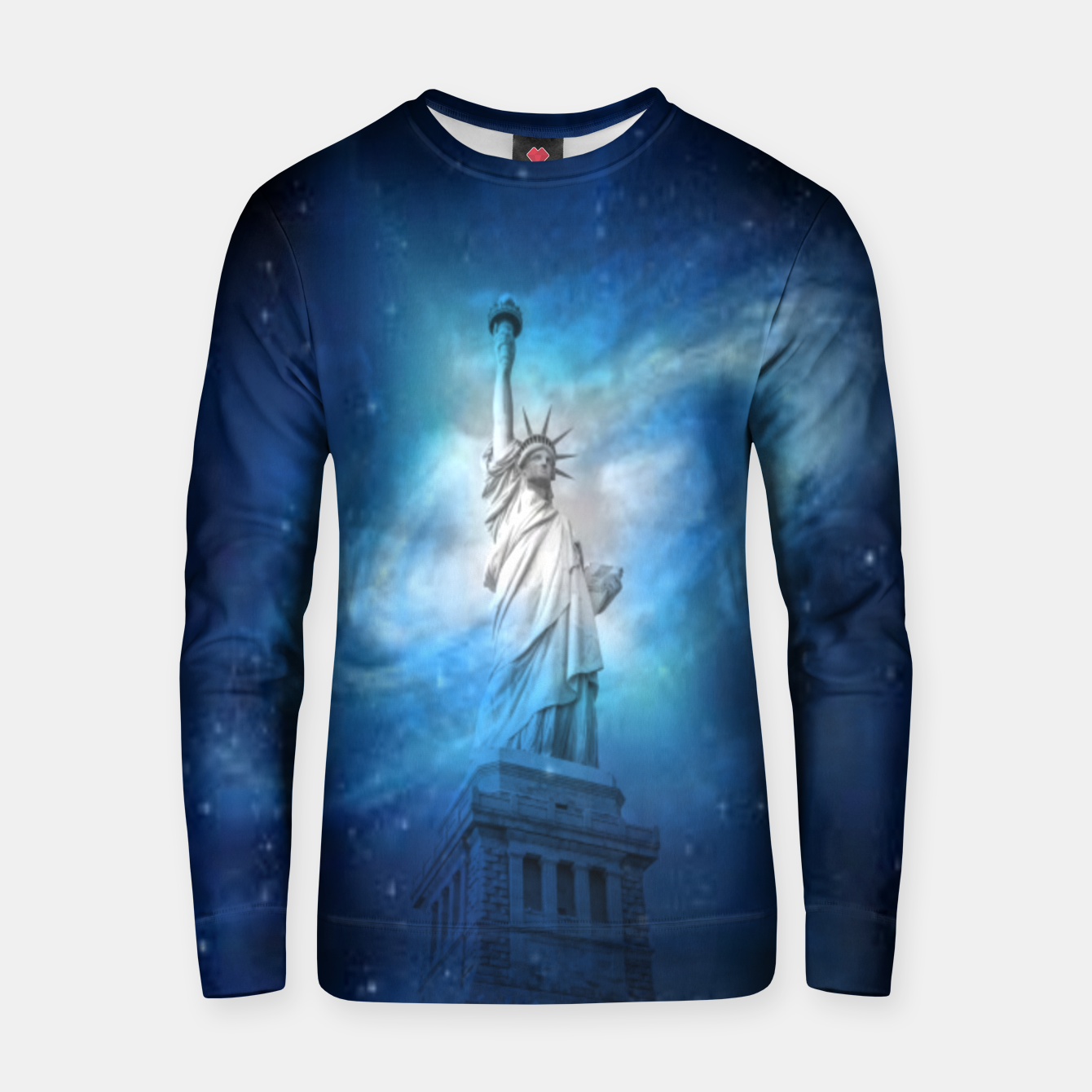 Image of Statue Of Liberty Cotton sweater - Live Heroes