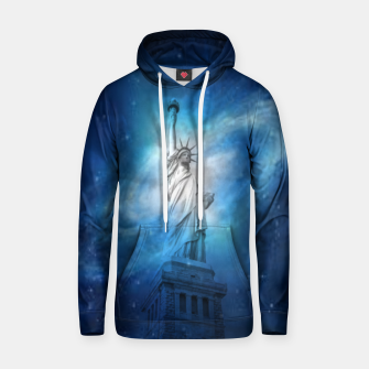 Thumbnail image of Statue Of Liberty Cotton hoodie, Live Heroes
