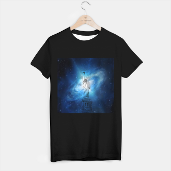 Miniatur Statue Of Liberty T-shirt regular, Live Heroes