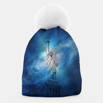 Thumbnail image of Statue Of Liberty Beanie, Live Heroes