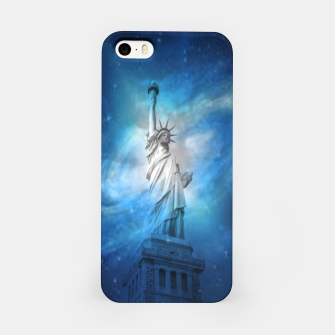 Miniatur Statue Of Liberty iPhone Case, Live Heroes