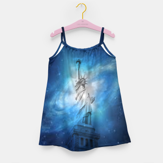 Miniatur Statue Of Liberty Girl's dress, Live Heroes