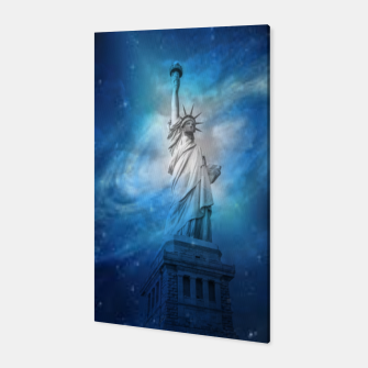 Miniatur Statue Of Liberty Canvas, Live Heroes
