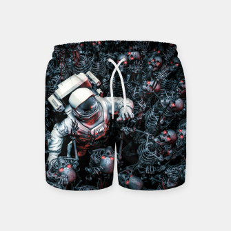 Thumbnail image of Planet of Terror Swim Shorts, Live Heroes
