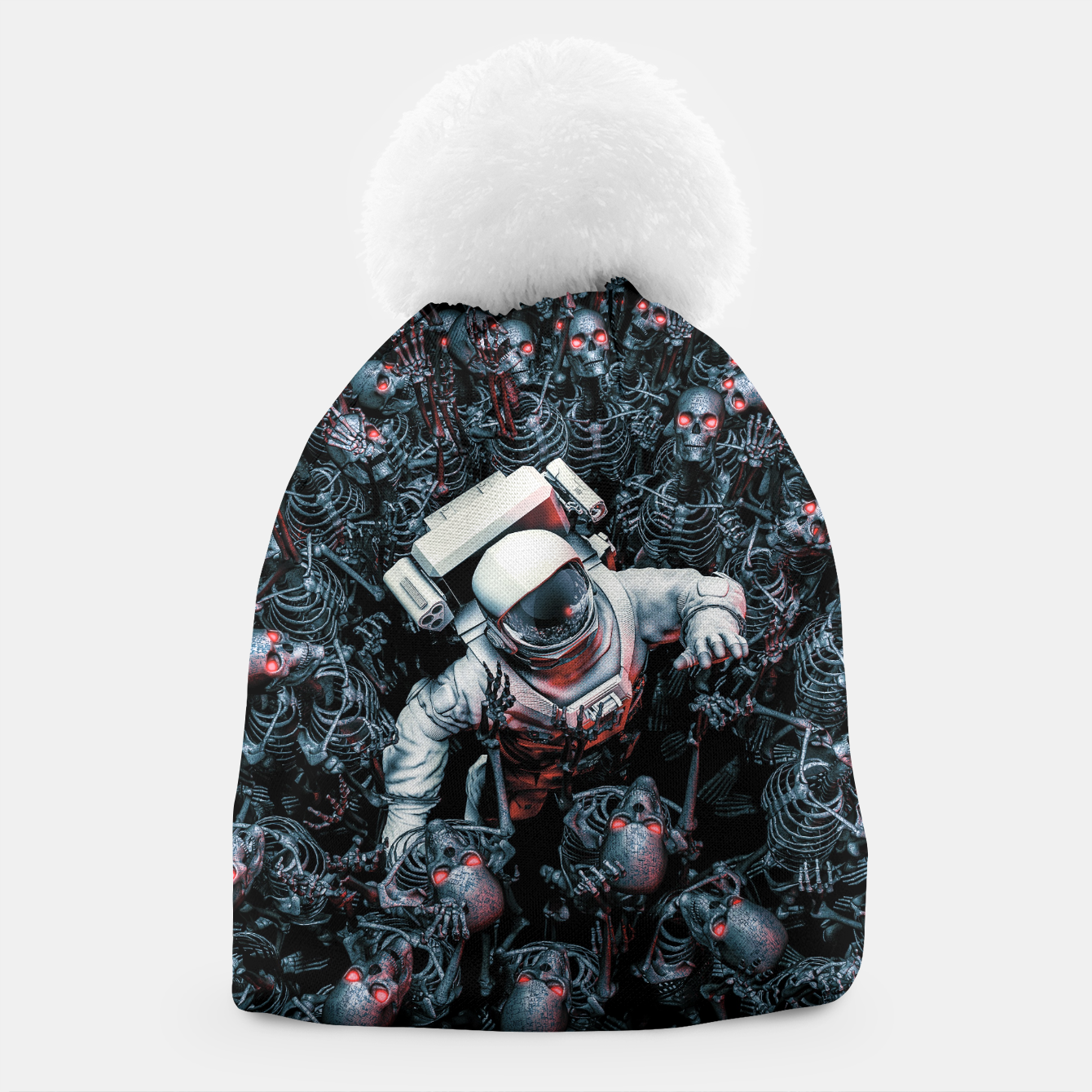 Image of Planet of Terror Beanie - Live Heroes 54809ba62d8