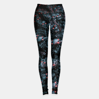 Thumbnail image of Planet of Terror Leggings, Live Heroes