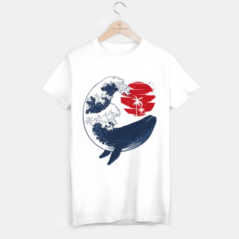 Thumbnail image of The whale wave Camiseta Regular, Live Heroes