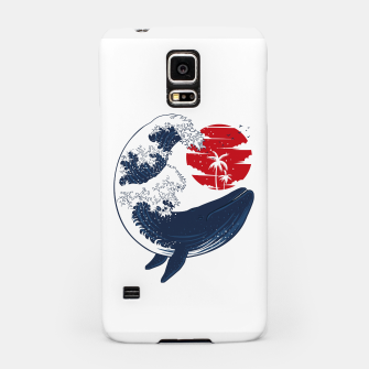 Thumbnail image of The whale wave Carcasa por Samsung, Live Heroes