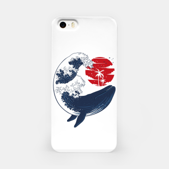 Thumbnail image of The whale wave Carcasa por Iphone, Live Heroes