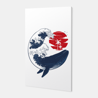 Miniature de image de The whale wave Canvas, Live Heroes