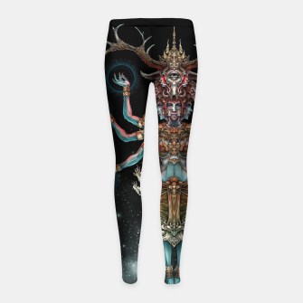 Thumbnail image of Winya No. 141 Girl's leggings, Live Heroes