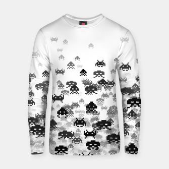 Thumbnail image of Invaded III B&W Cotton sweater, Live Heroes