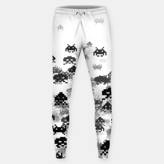 Thumbnail image of Invaded III B&W Cotton sweatpants, Live Heroes