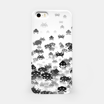 Thumbnail image of Invaded III B&W iPhone Case, Live Heroes