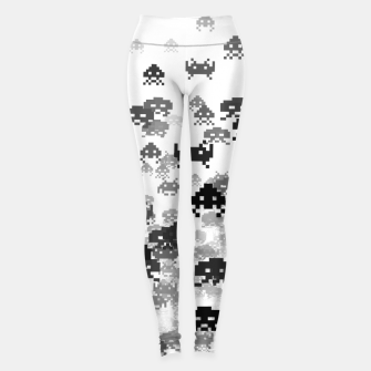 Thumbnail image of Invaded III B&W Leggings, Live Heroes