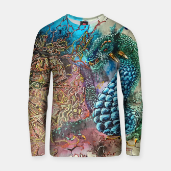 Thumbnail image of Fractal Traveler Cotton sweater, Live Heroes