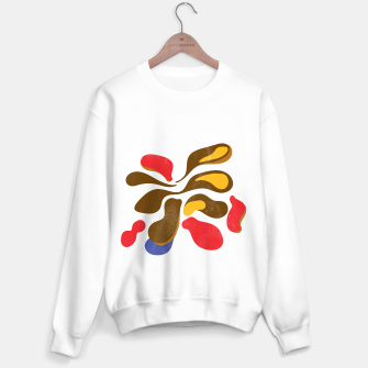 Thumbnail image of Abstract flower paint Sweater regular, Live Heroes