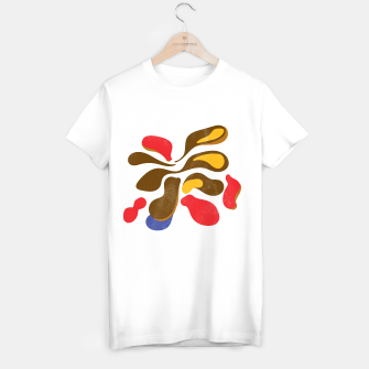 Thumbnail image of Abstract flower paint T-shirt regular, Live Heroes