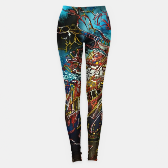 Thumbnail image of Fractal Traveler Leggings, Live Heroes