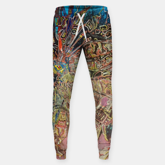 Thumbnail image of Fractal Traveler Cotton sweatpants, Live Heroes