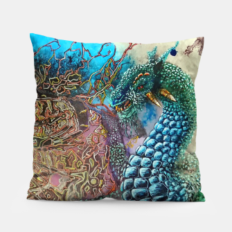 Thumbnail image of Fractal Traveler Pillow, Live Heroes