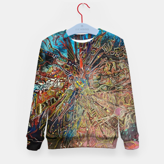 Thumbnail image of Fractal Traveler Kid's sweater, Live Heroes