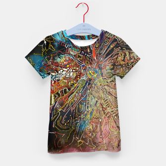 Thumbnail image of Fractal Traveler Kid's t-shirt, Live Heroes