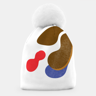 Thumbnail image of Abstract flower paint Beanie, Live Heroes