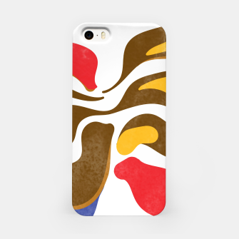 Thumbnail image of Abstract flower paint iPhone Case, Live Heroes
