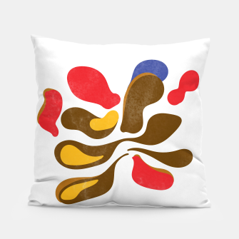 Thumbnail image of Abstract flower paint Pillow, Live Heroes