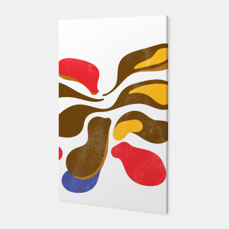 Thumbnail image of Abstract flower paint Canvas, Live Heroes