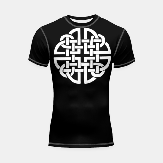 Thumbnail image of Celtic Viking Tribal Sun and Moon Shortsleeve rashguard, Live Heroes