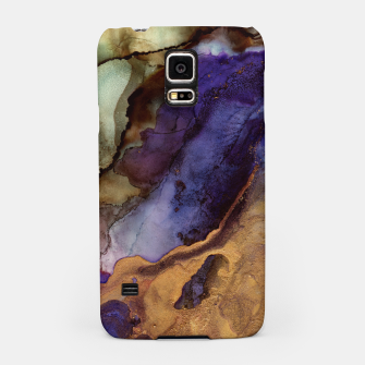 Thumbnail image of Purple and Gold Abstract Samsung Case, Live Heroes