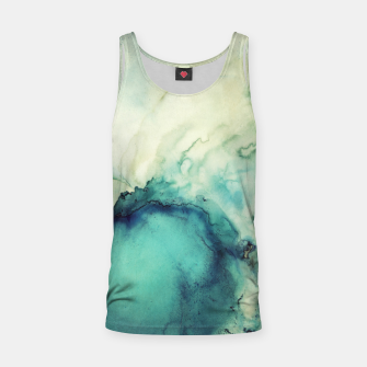 Thumbnail image of Teal Abstract Tank Top, Live Heroes
