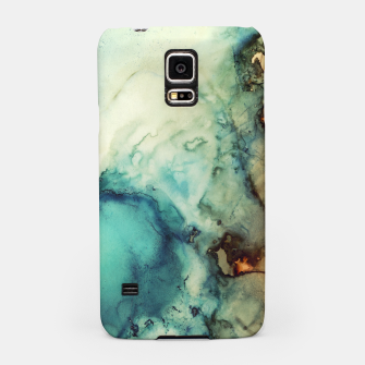 Thumbnail image of Teal Abstract Samsung Case, Live Heroes