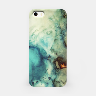 Thumbnail image of Teal Abstract iPhone Case, Live Heroes